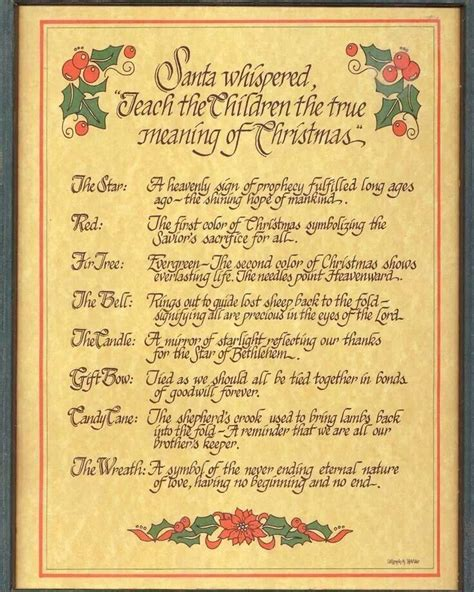 the real meaning of christmas symbols christmas pinterest