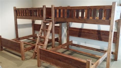 bedroom  design  twin  queen bunk bed