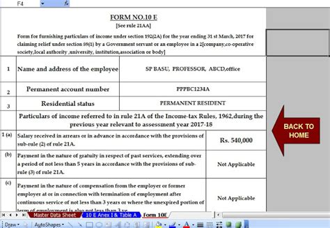 hra exemption under section 80gg hra deduction section 28 images salary form 12bb new