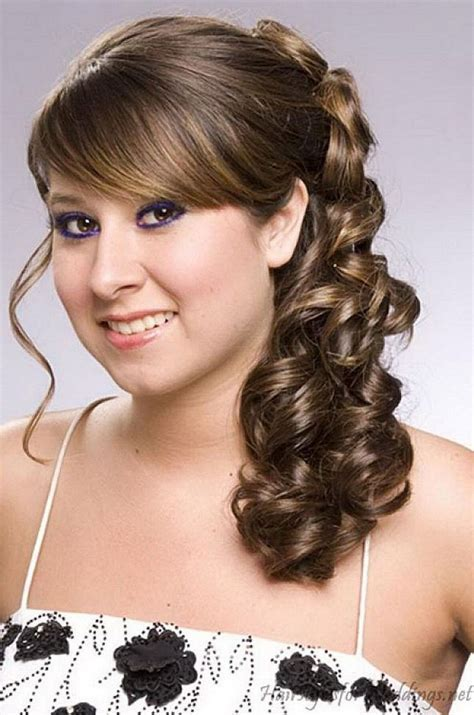 Indian Bridal Hairstyle For Round Chubby Face, Wedding