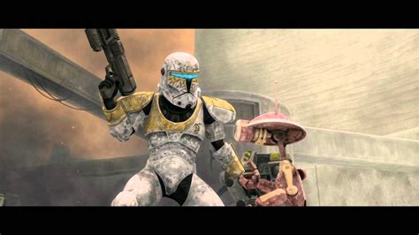 x clones wars the clone wars clone commando gregor vs