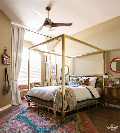 master bedroom makeover  fan tastic finishing touch