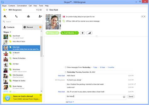 skype for desktop computer skype should i use modern metro apps or desktop apps in windows 8