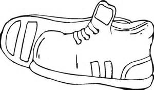 shoe coloring pages printable sport shoes coloring pages kidskat clipart