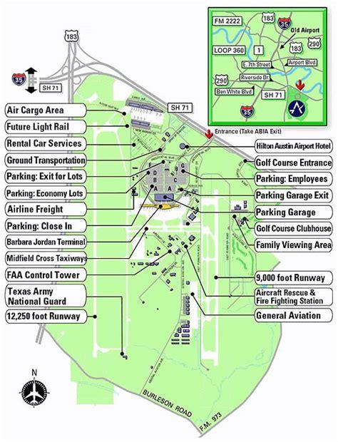 texas airport terminal map bergstrom airport map afputra