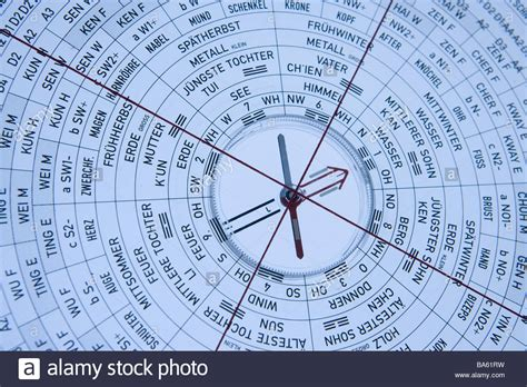 feng shui compass lo pan detail series feng shui broached compass stock photo royalty free