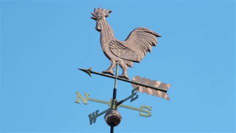 Define Handcrafted - wind vane stock footage