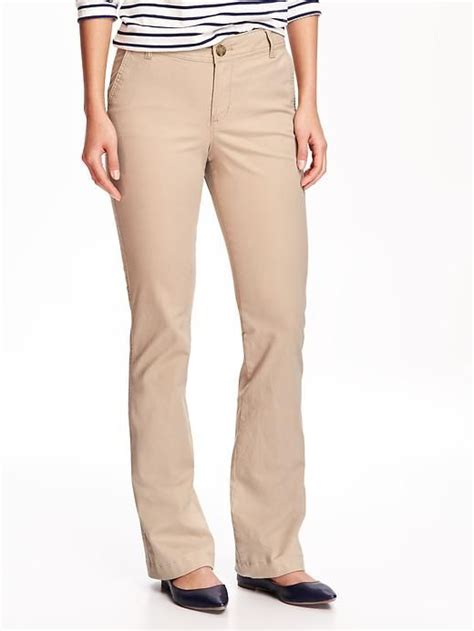 colored khakis mid rise boot cut khakis for in 2019 wardrobe by