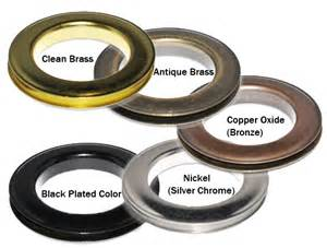 Grommet Machine For Curtains Round 15 2 Quot Metal Grommets Amp Washers Black Painted
