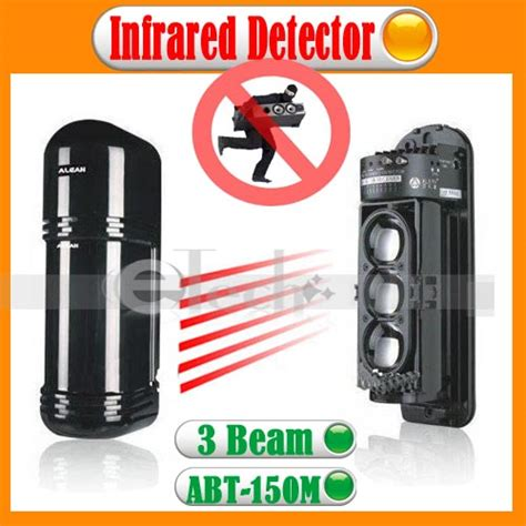 2 beams photoelectric infrared detector abt 30m alarm home