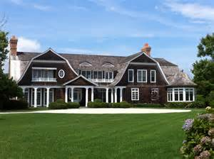 Cape Cod Floor Plan hamptons style the house that a m built