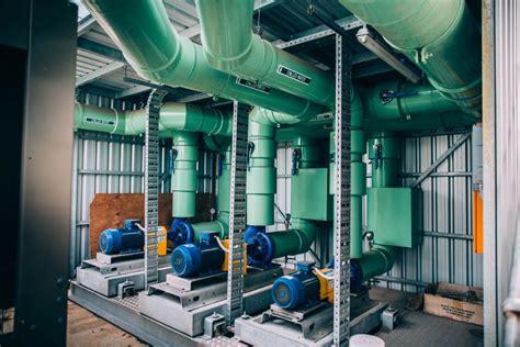 chiller plant upgrade clarke st southbank melbourne