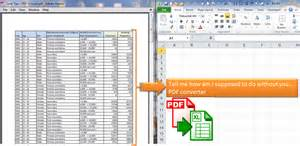 How Convert Pdf To Excel Spreadsheet by Convert Pdf To Excel Without Pdf Converter Wmfexcel