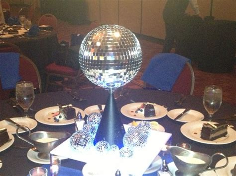 disco centerpieces disco centerpiece