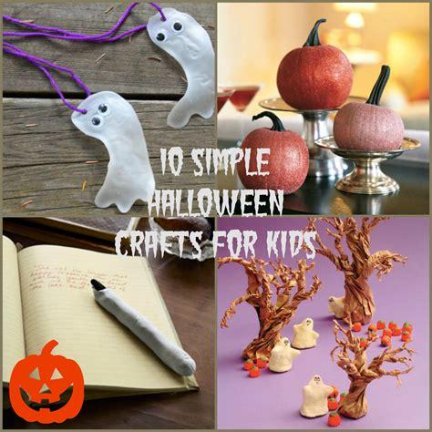 Creative Halloween Crafts - easy halloween crafts for kids
