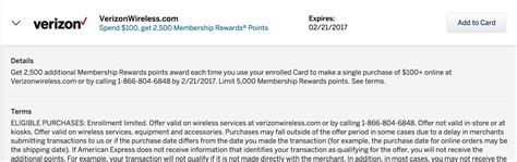 Verizon Letter Of Credit Amex Offers 2500mr 25 100 You Verizon Cellular Bill 2x Doctor Of Credit