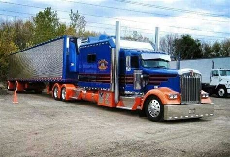 Semi Trucks With Large Sleepers by Kenworth W900 Custom Semi Sleepers