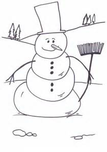 snowman coloring free printable snowman coloring pages for