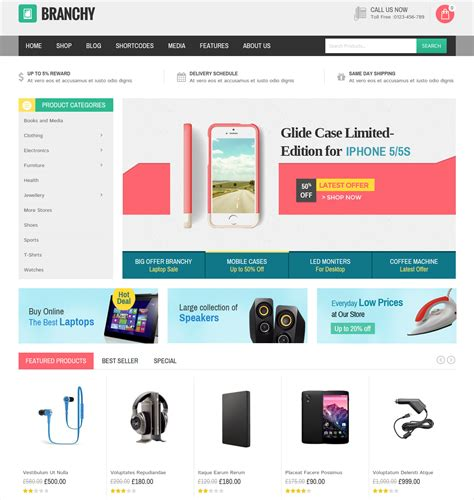 html ecommerce themes 51 best ecommerce wordpress themes templates design