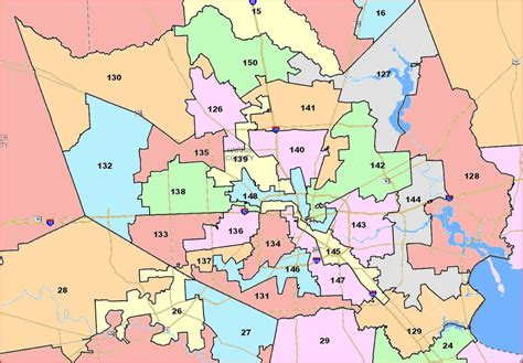 harris county map texas redistricting committee votes out state house map the kuff