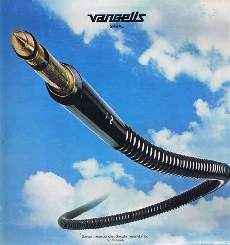 Lp Spiral vangelis spiral rca pl 25116 vinyl record vangelis wax