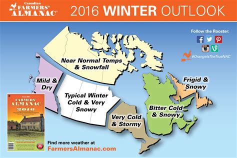 Whats The Winter Outlook For 2015 2016 | 2016 winter weather prediction farmers almanac canada