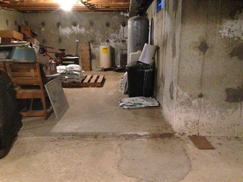 water seeping into basement floor connecticut basement systems basement waterproofing