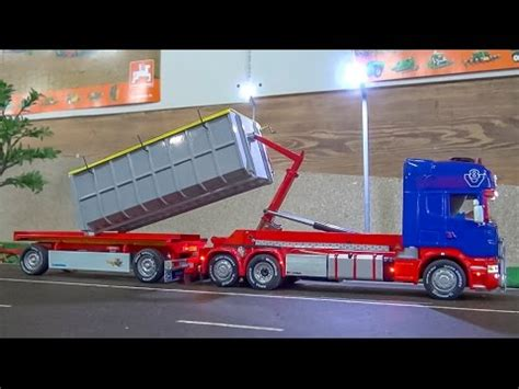 Harga Rc Truck Container Scania by Fantastic Rc Truck In 1 32 Scale Amazing Container Scania