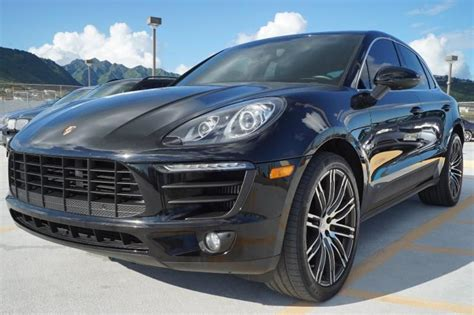 2015 porsche macan suv 4 door for sale 196 used cars from