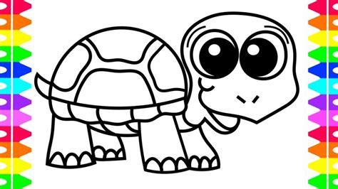 Baby Turtle Coloring Pages by Baby Turtle Coloring Pages Printable Coloring Page For