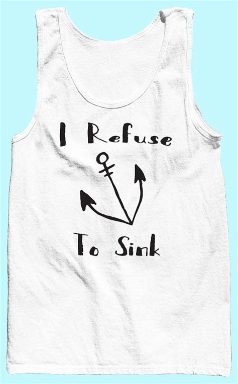 I Refuse To Sink Bible Verse by Workout Tank Tops I Refuse To Sink Tank Top