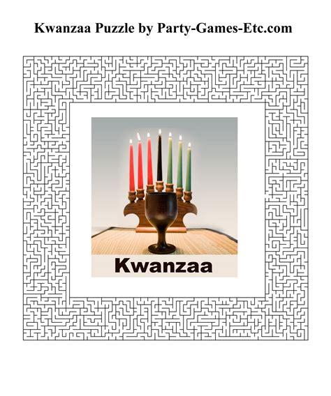 printable kwanzaa games kwanzaa party games free printable games and activities
