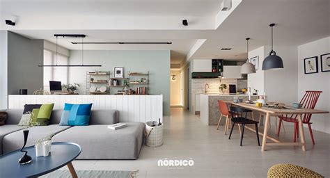 designer homes interior nordic decor inspiration in two colorful homes