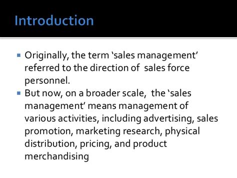 Sales Management Notes Mba by Sales Management In The Pharma Industry An Overview