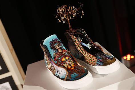 vans design contest winners 2015 students design van shoes for their high school s art