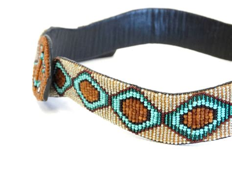 1990s Beaded Diamondback Rattlesnake Belt For Sale At 1stdibs