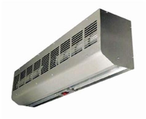 leading edge air curtain air curtains feature low profile design