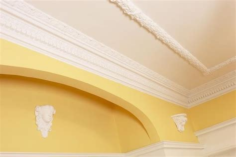 Installing Crown Moulding On Ceiling by How To Install Crown Molding On A Textured Wall Ceiling