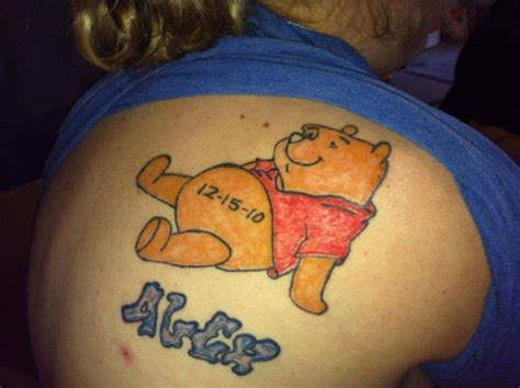 winnie the pooh tattoos winnie the pooh tattoos designs ideas and meaning