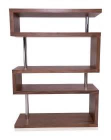 modern shelves edan mid century modern shelf with chic walnut finish