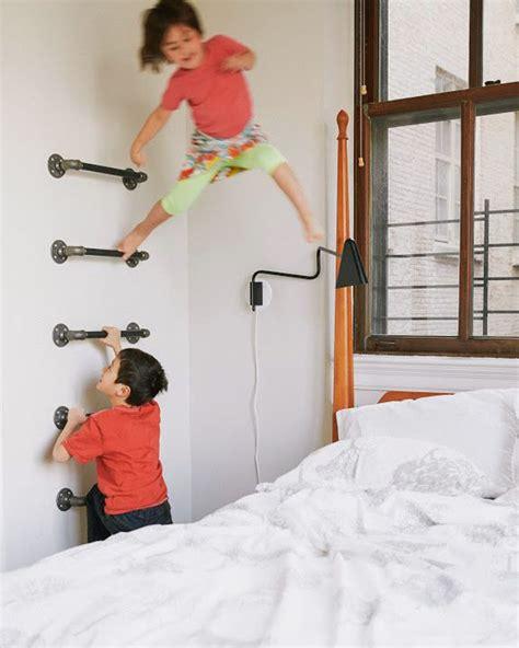 fun climbing wall ideas   kids safety home design  interior