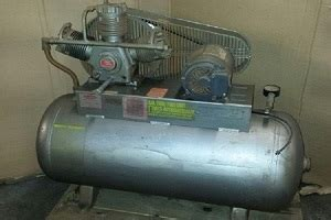 used saylor beall pl 735 80 air compressor