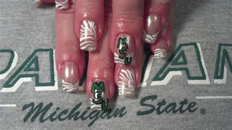 Michigan State Nail