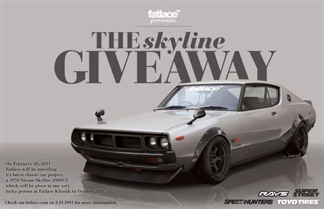 Nissan Gtr Giveaway - nissan skyline gt r s in the usa blog fatlace skyline giveaway