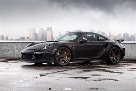 nissan black singer topcar s stinger gtr is a beastly porsche 911 turbo s