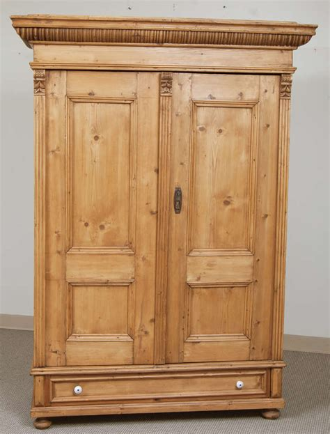 armoire pine pine armoire at 1stdibs