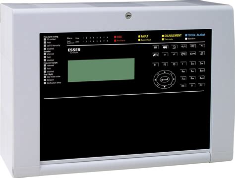 Alarm Esser the compact alarm panel a new esser
