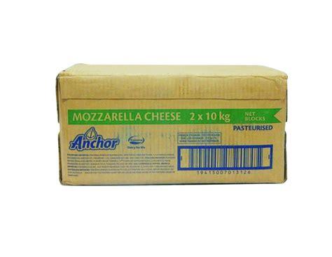 jual anchor mozzarella cheese 2 x 10 kg harga grosir
