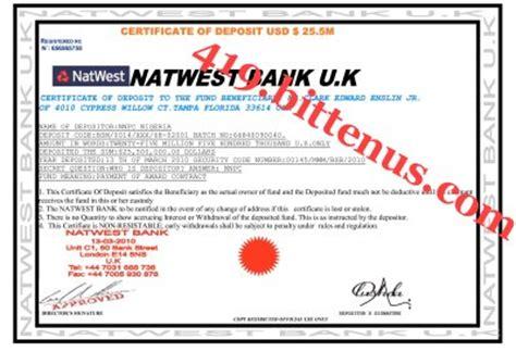 doic bank certificates of deposit nigeria