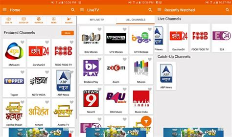 best tv channels best apps to live tv on android